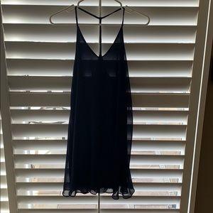 Brand New Aqua Navy Dress